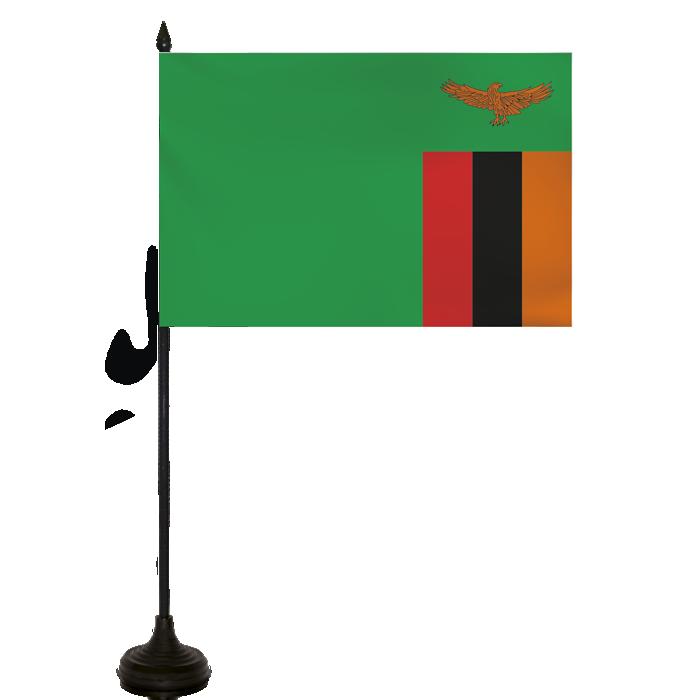 Desk Flag - Zambia Flag