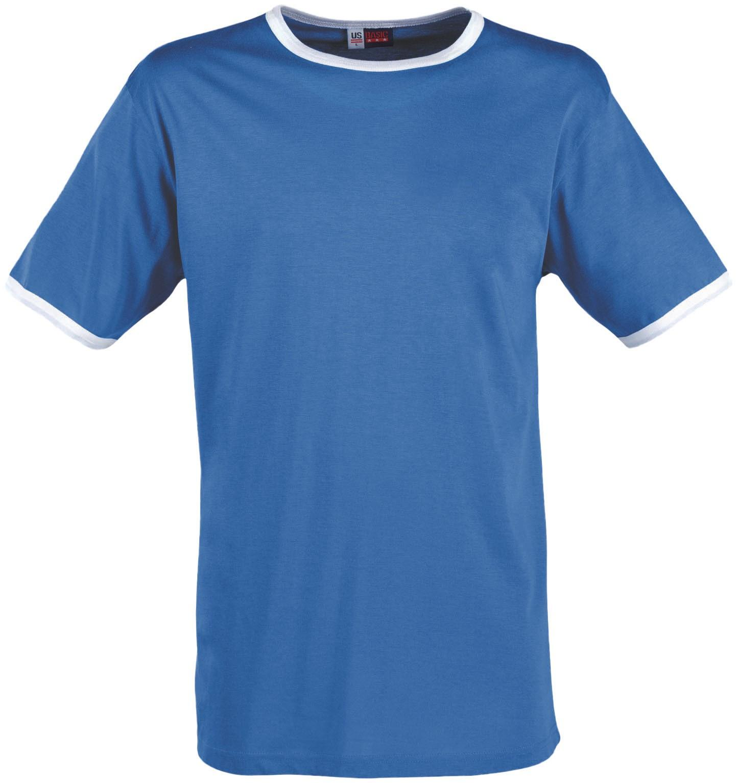 Mens Adelaide Contrast T-shirt - Light Blue Only