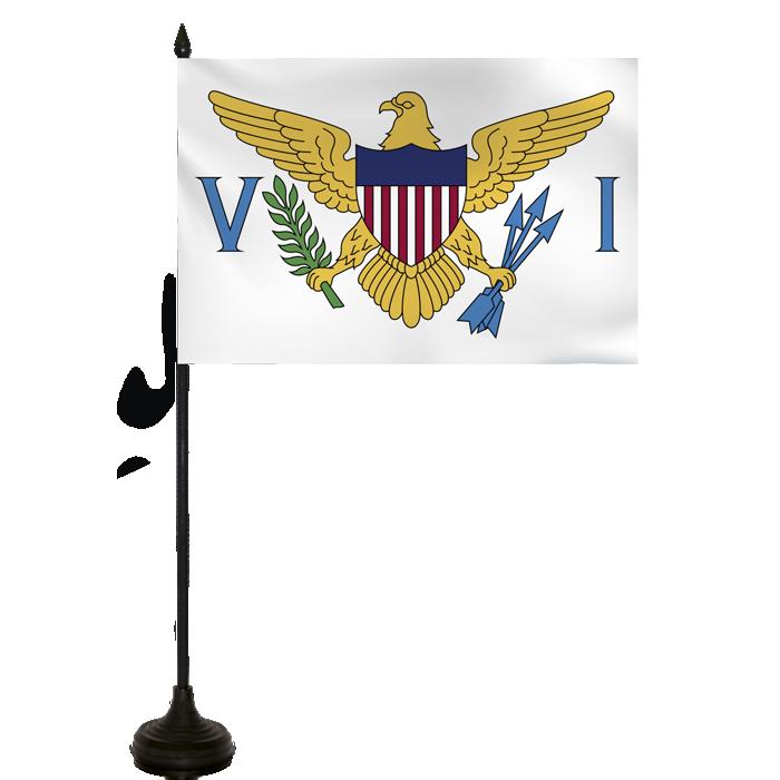 Desk Flag - Virgin Islands Usa Flag