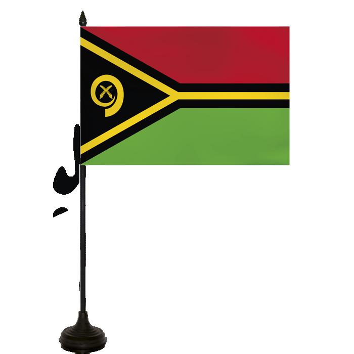 Desk Flag - Vanuatu Flag
