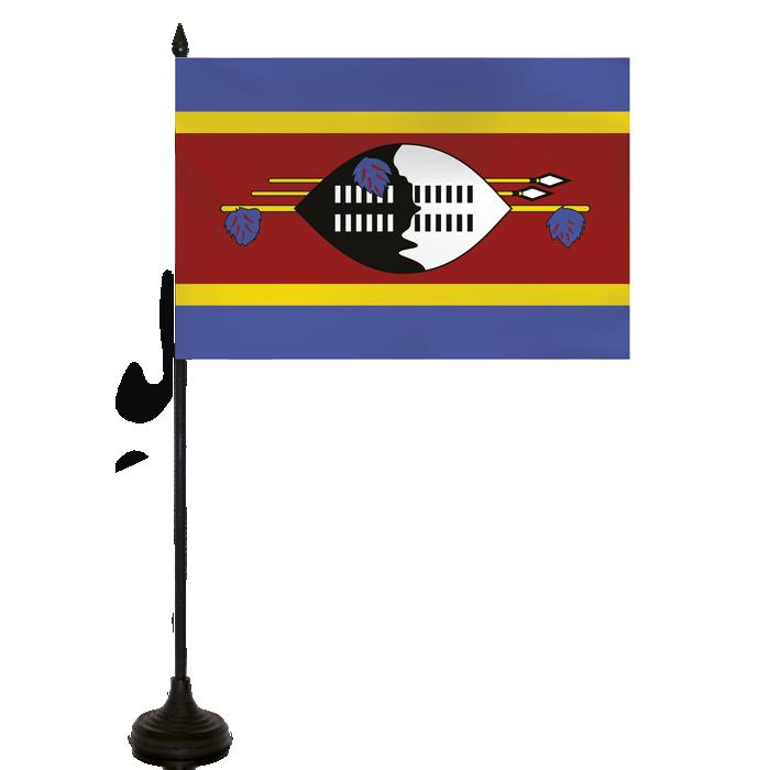 Desk Flag - Swaziland Flag