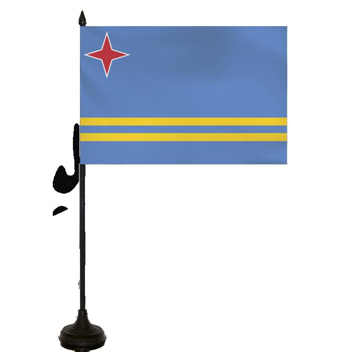 Desk Flag - Aruba Flag