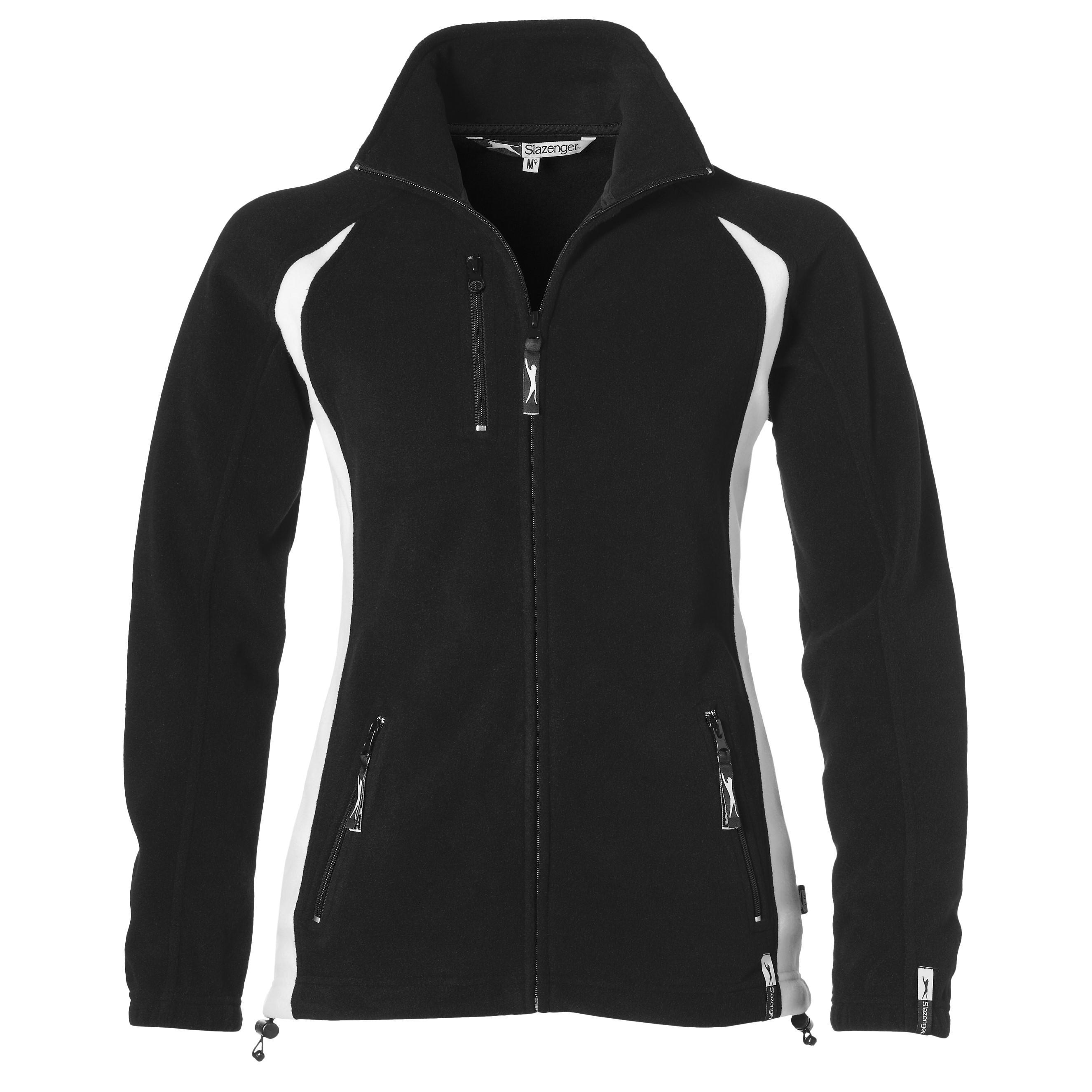 Ladies Apex Micro Fleece Jacket - Black Only
