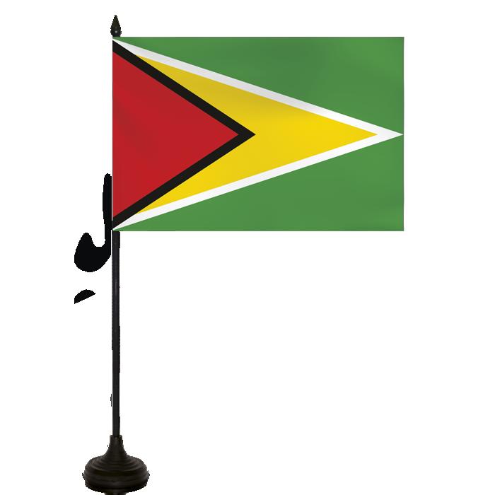 Desk Flag - Guyana Flag