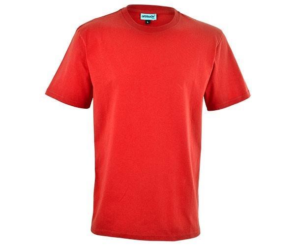 Mens Short Sleeve Basic 180 T-shirt - Red Only