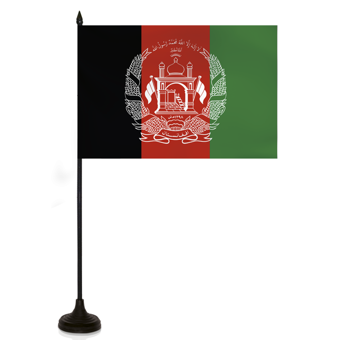 Desk Flag - Afganistan Flag