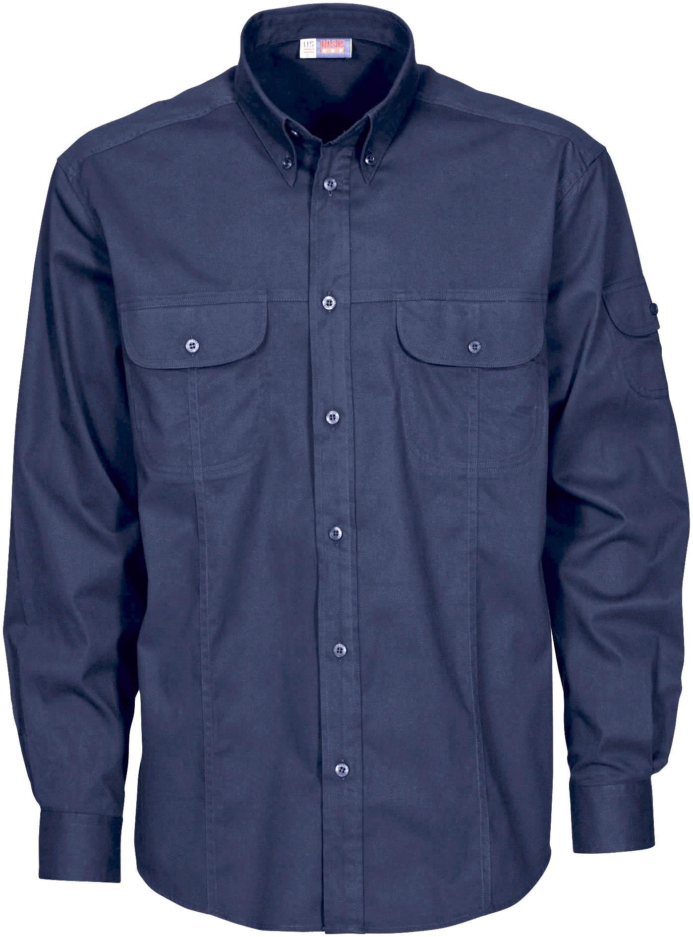 Mens Long Sleeve Phoenix Shirt - Navy Only