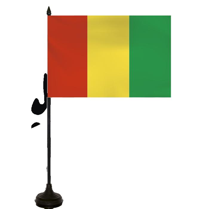 Desk Flag - Guinea Republic Flag