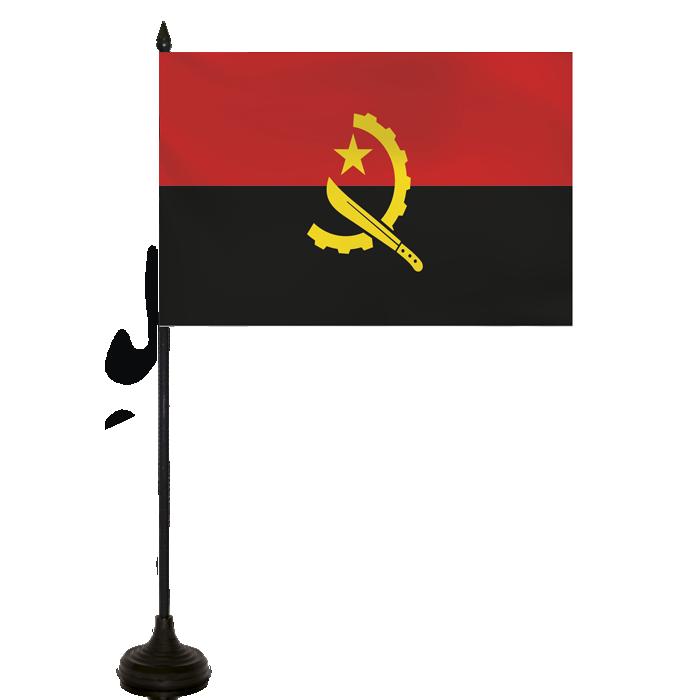 Desk Flag - Angola Flag