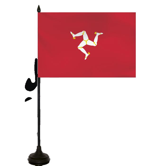 Desk Flag - Isle Of Mann Flag