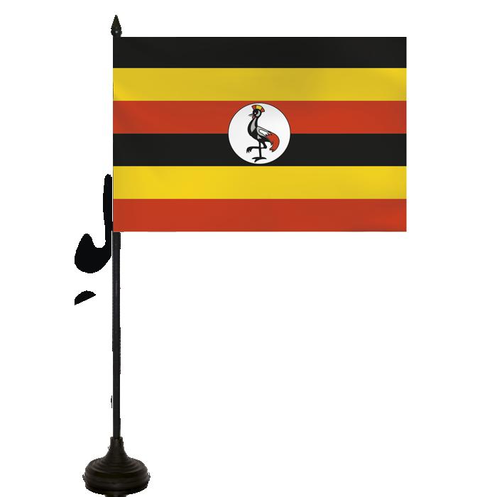 Desk Flag - Uganda Flag