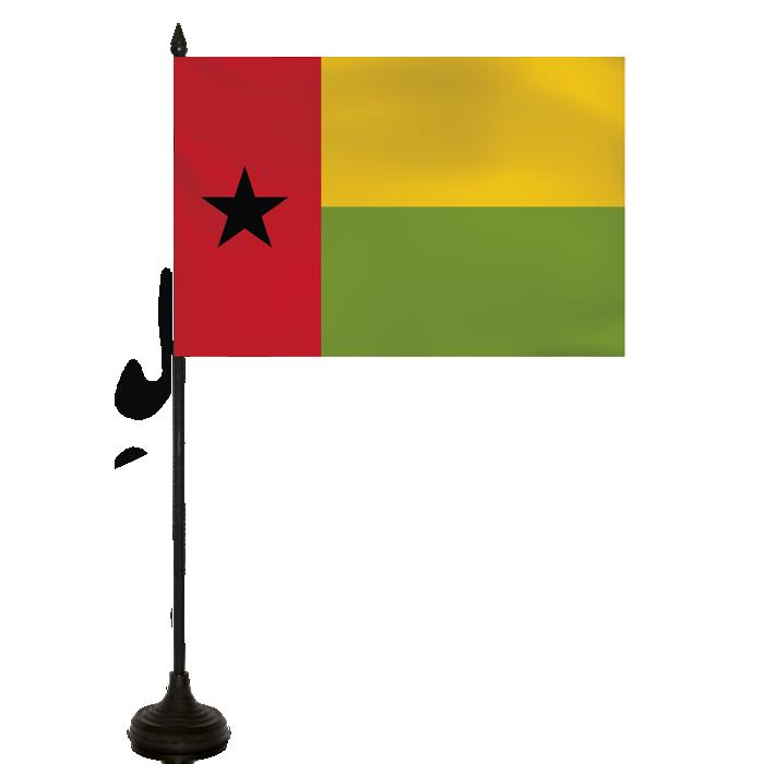 Desk Flag - Guinea Bissau Flag