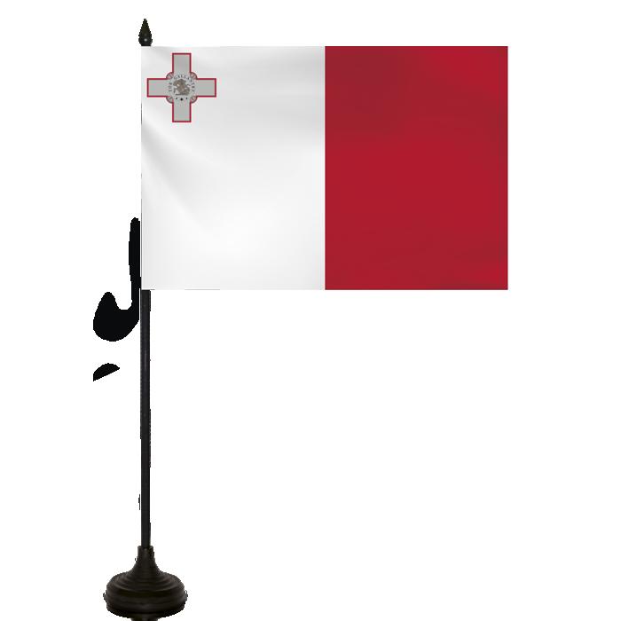 Desk Flag - Malta Flag