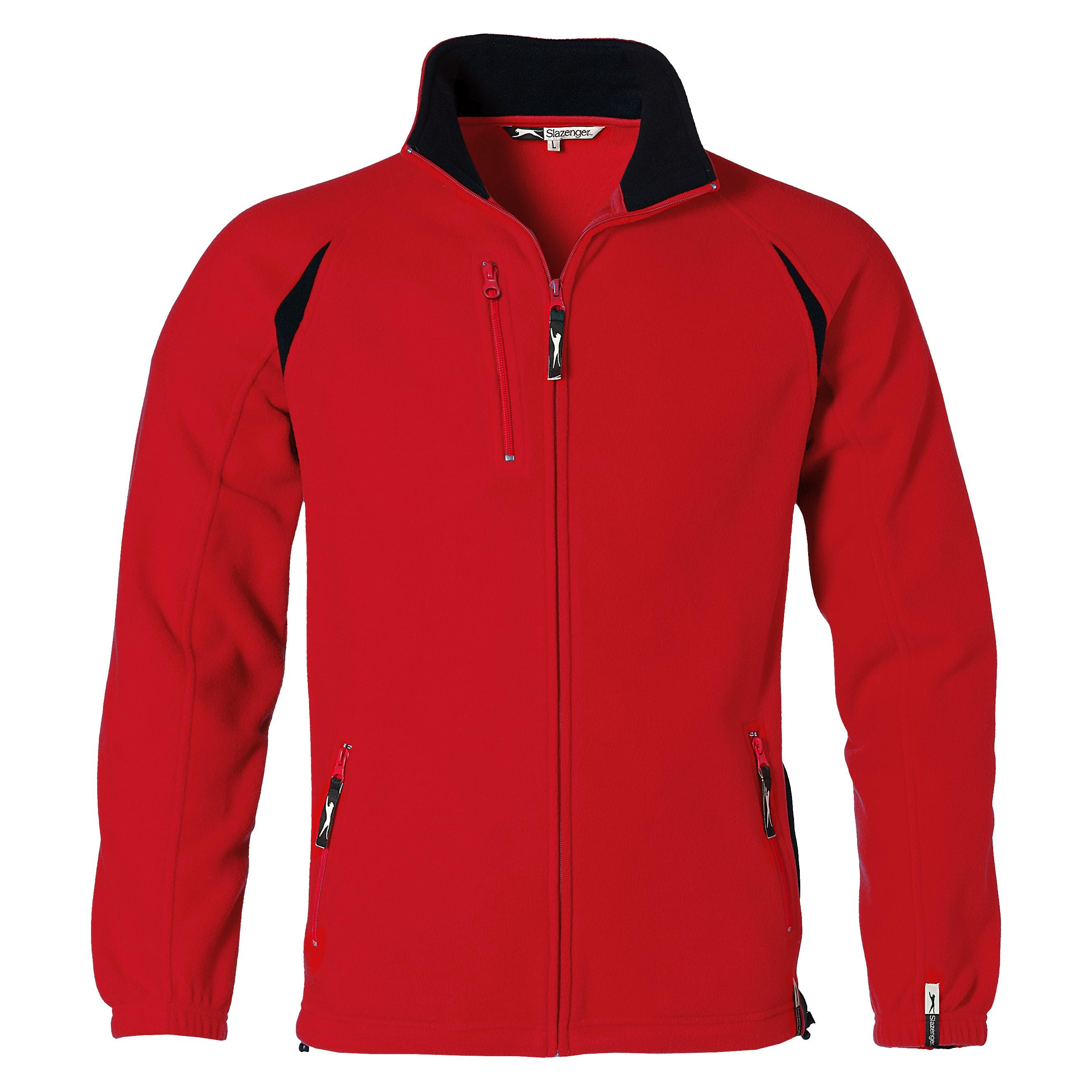 Mens Apex Micro Fleece Jacket - Red Only