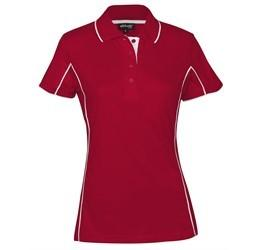 Ladies Denver Golf Shirt - Red Only