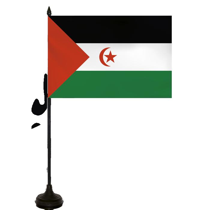 Desk Flag - Western Sahara Flag