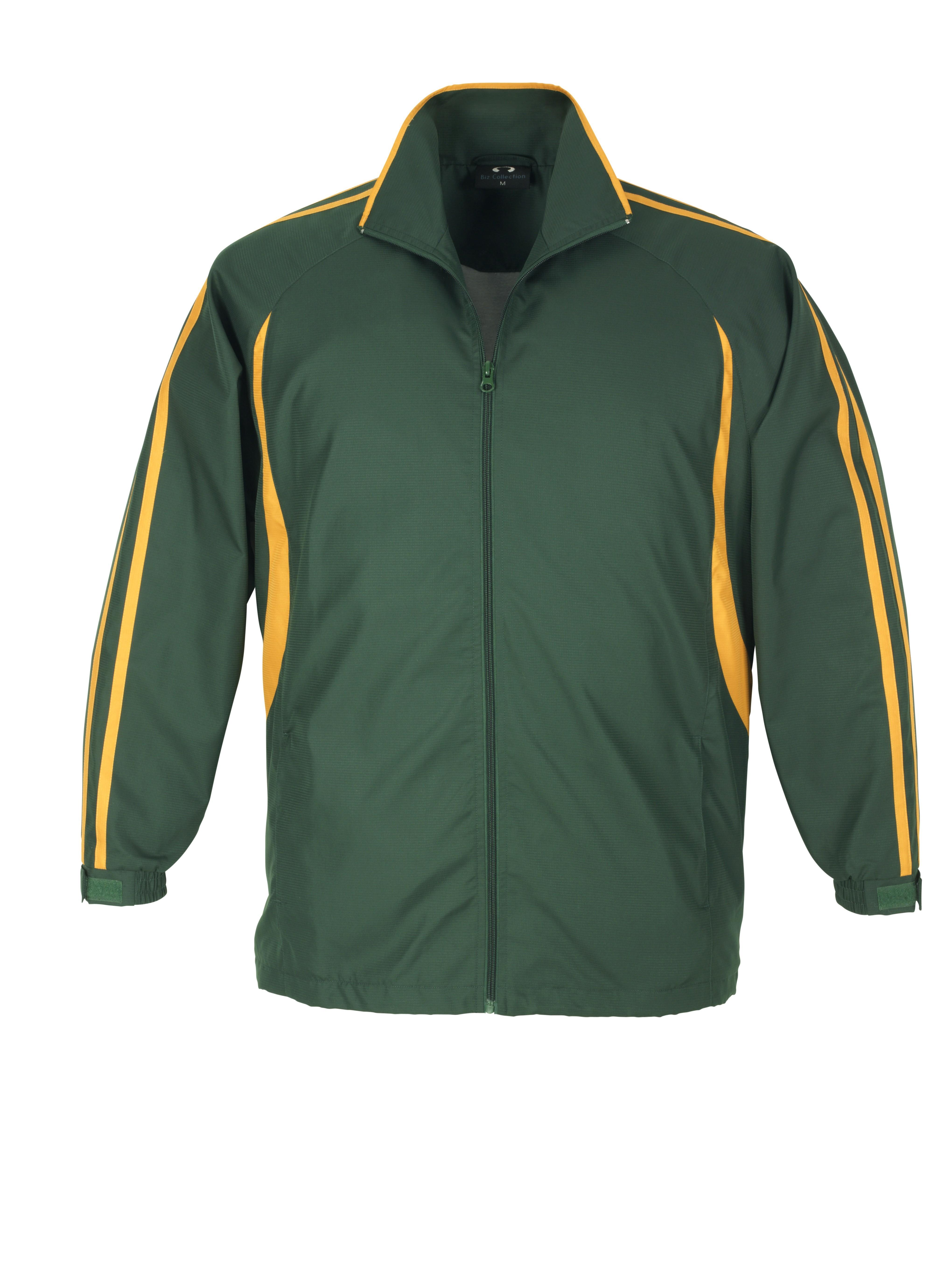Flash Unisex Track Top - Green Gold Only
