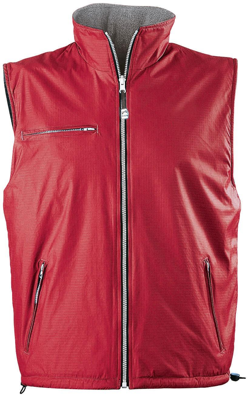 Mens Reversible Fusion Bodywarmer - Red Only