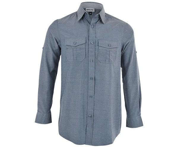 Ruben Shirt - Charcoal Only