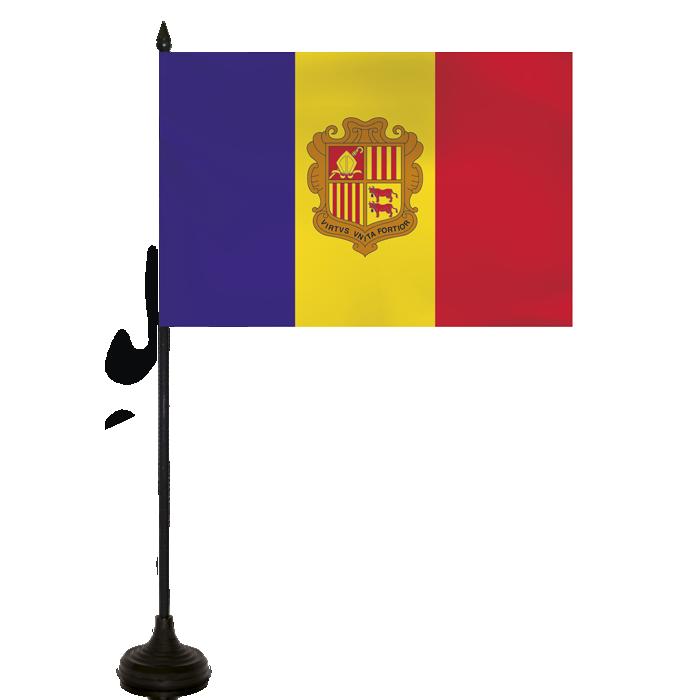 Desk Flag - Andorra Flag