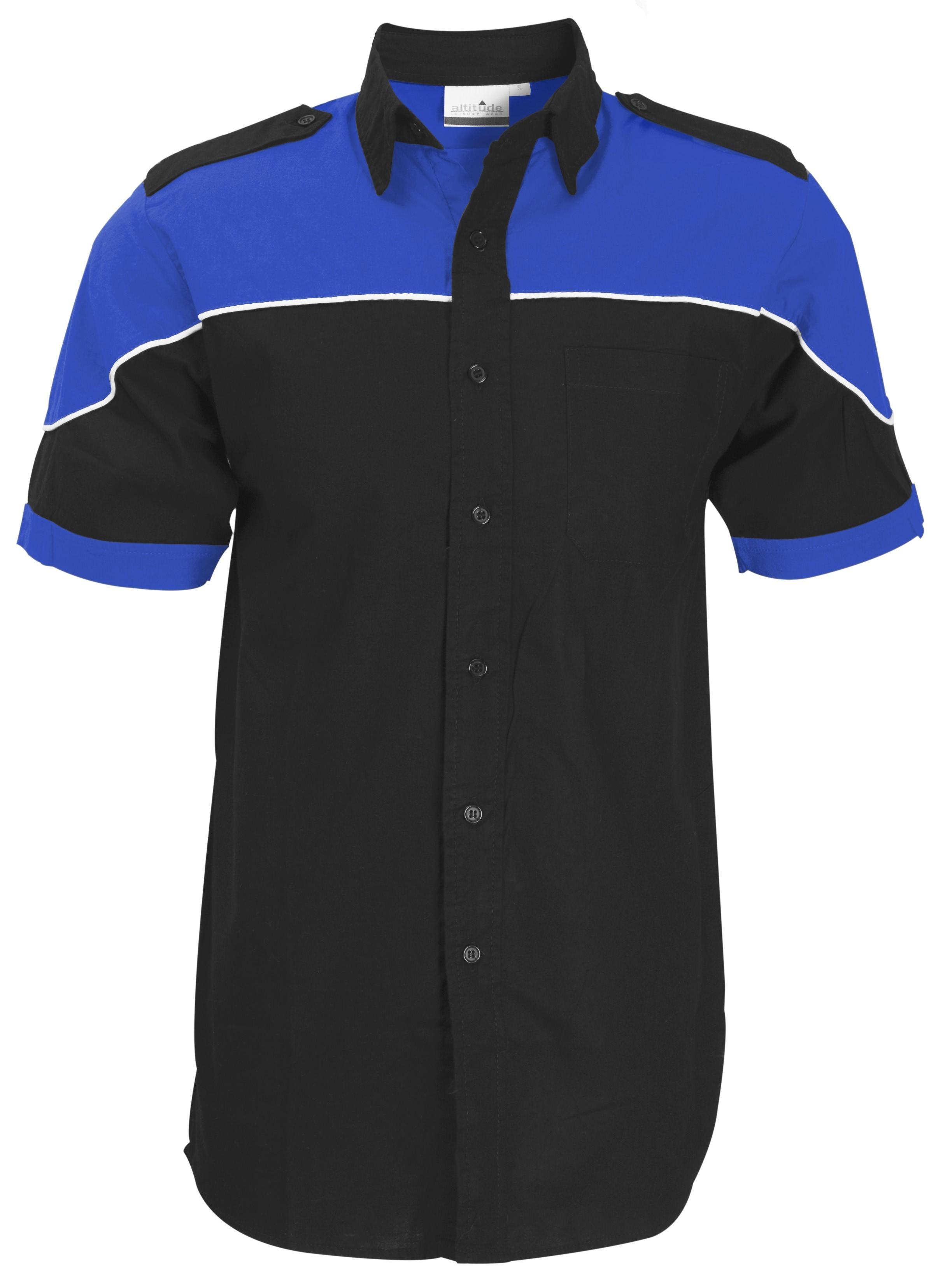 Mens Short Sleeve Racer Shirt