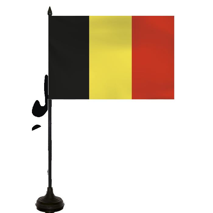 Desk Flag - Belgium Flag