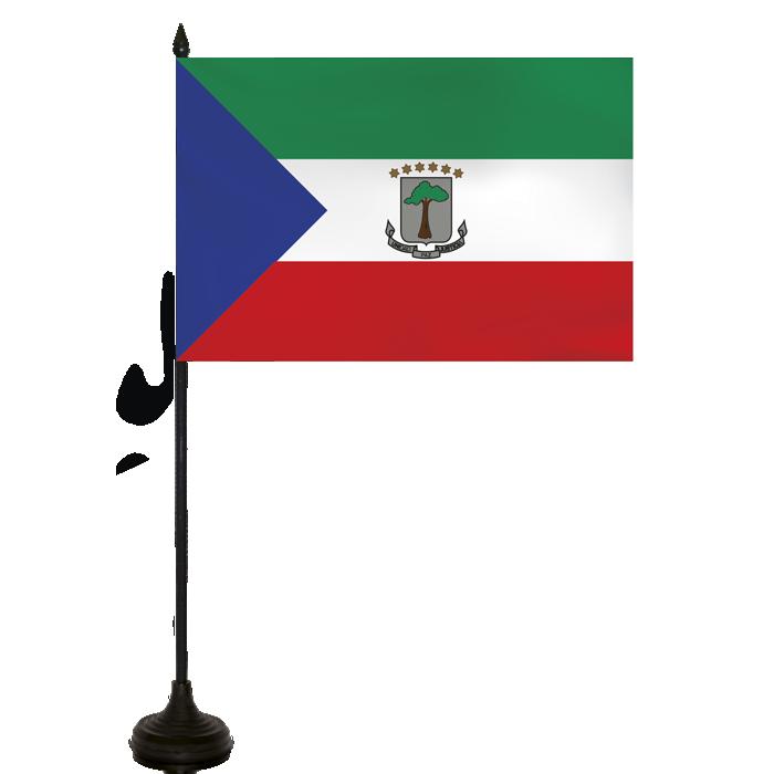 Desk Flag - Equatorial Guinea Flag