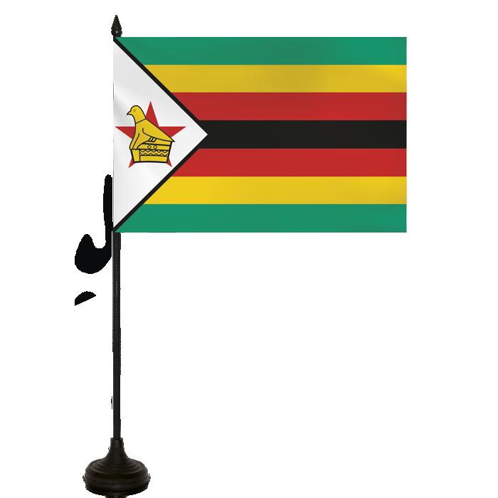 Desk Flag - Zimbabwe Flag