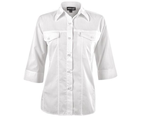 Sally Casual Blouse - White Only