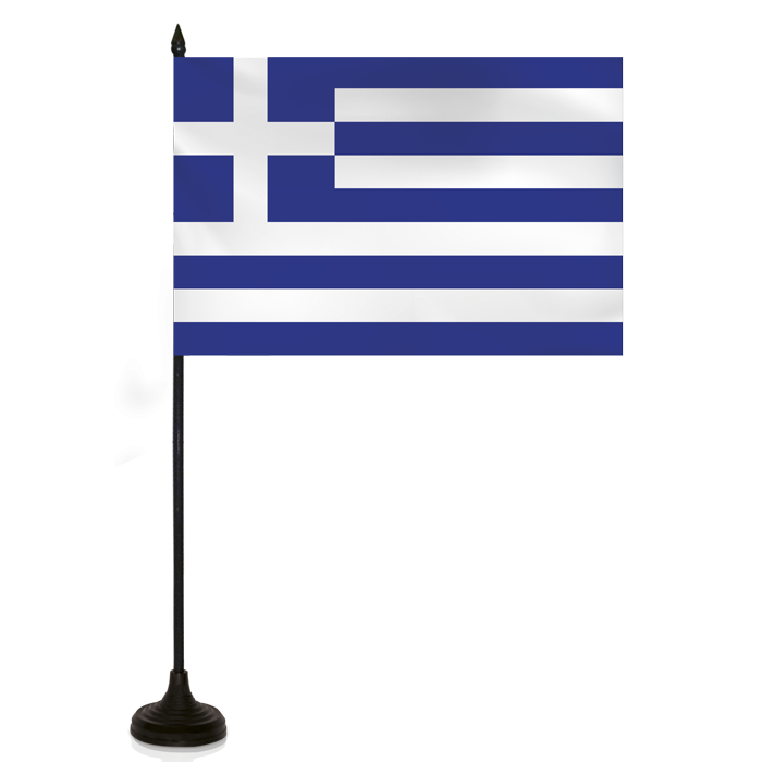 Desk Flag - Greece Flag