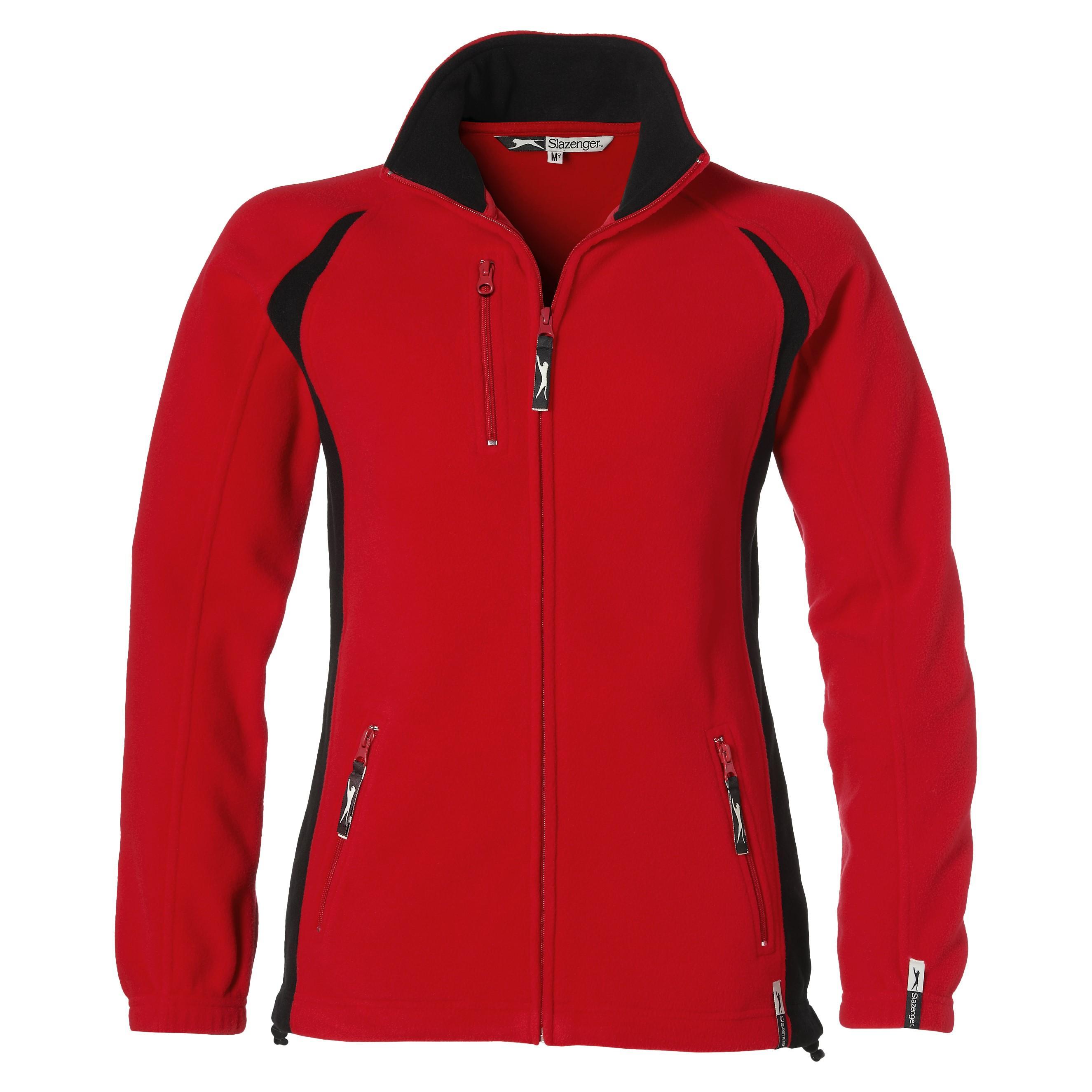 Ladies Apex Micro Fleece Jacket - Red Only