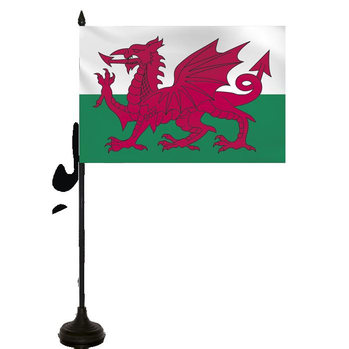 Desk Flag - Wales Flag