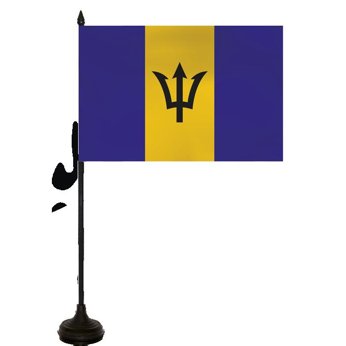 Desk Flag - Barbados Flag