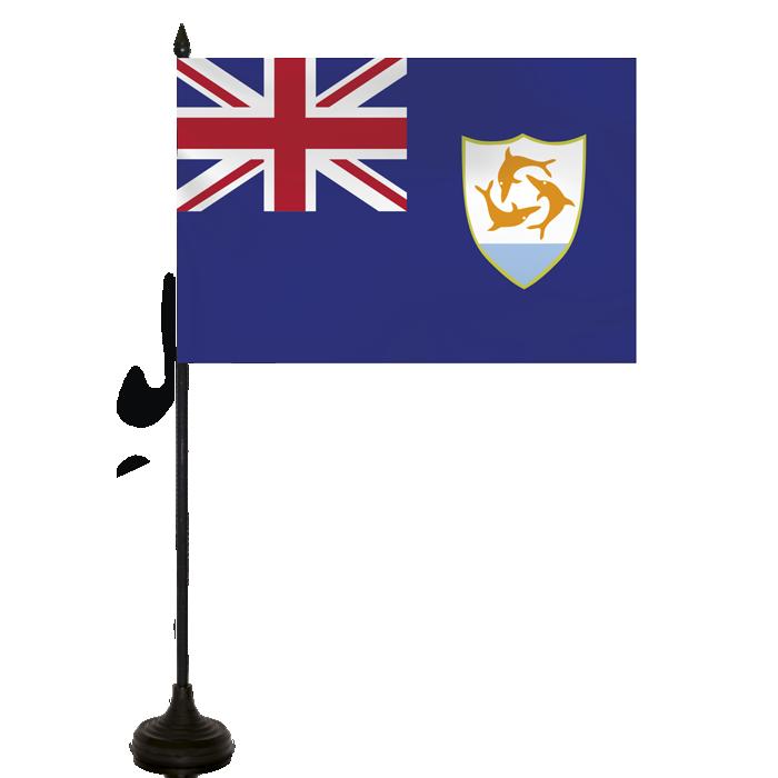 Desk Flag - Anguilla Flag