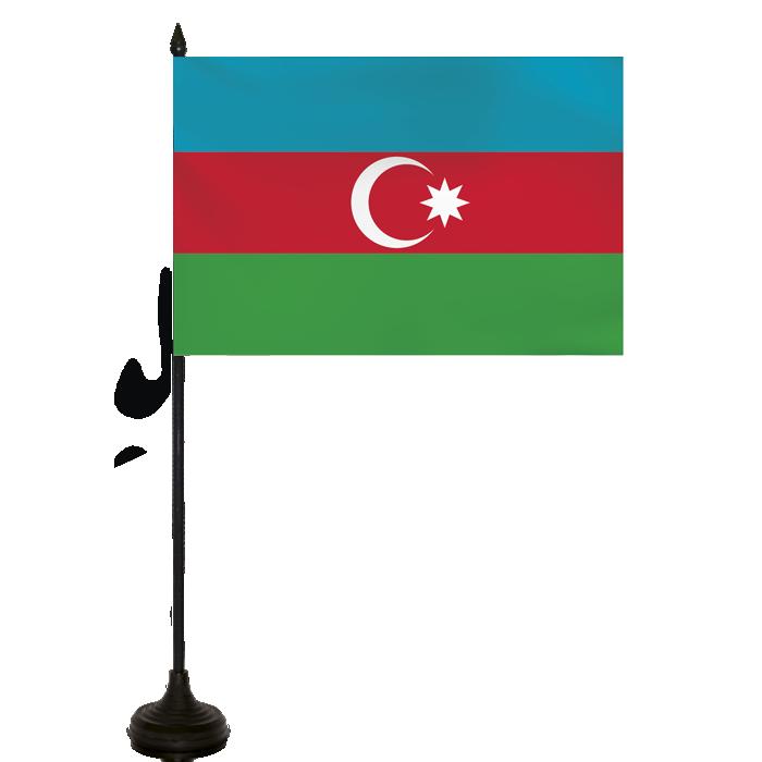 Desk Flag - Azerbaijhan Flag