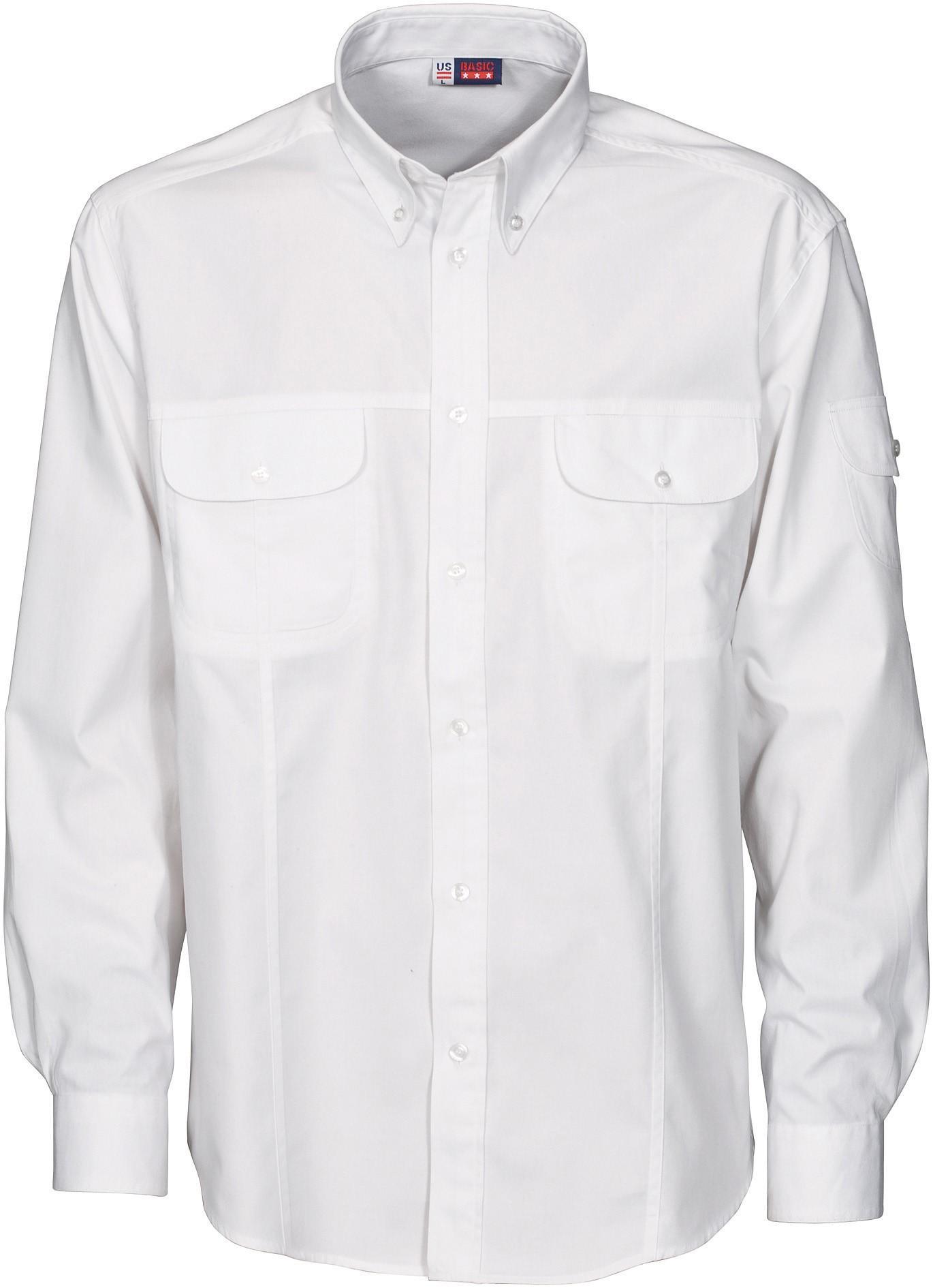 Mens Long Sleeve Phoenix Shirt - White Only