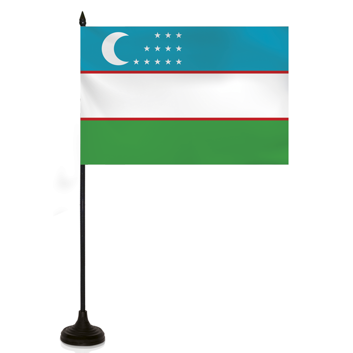 Desk Flag - Uzbekistan Flag