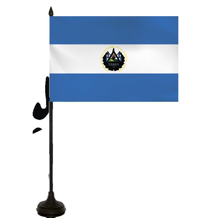Desk Flag - El Salvador Flag