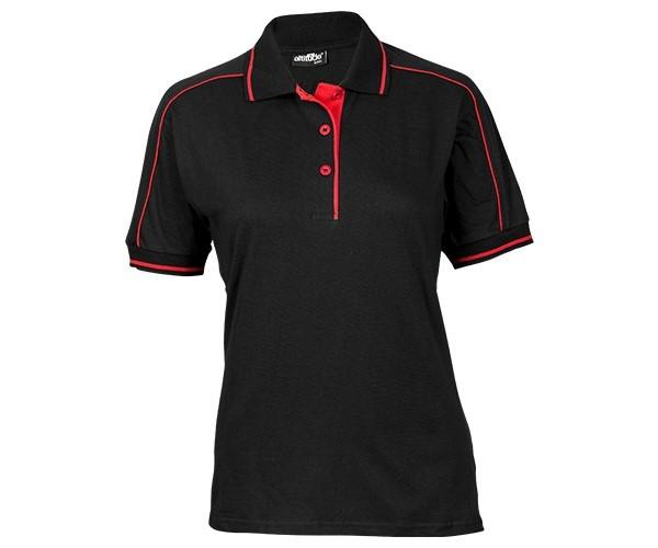 Trendsetter Ladies Golfer - Black And Red Only
