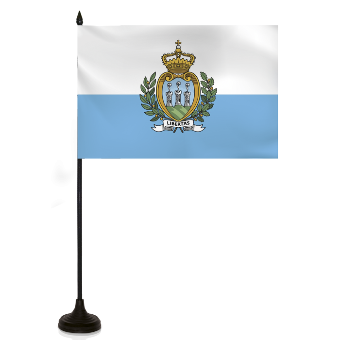 Desk Flag - San Marino Flag