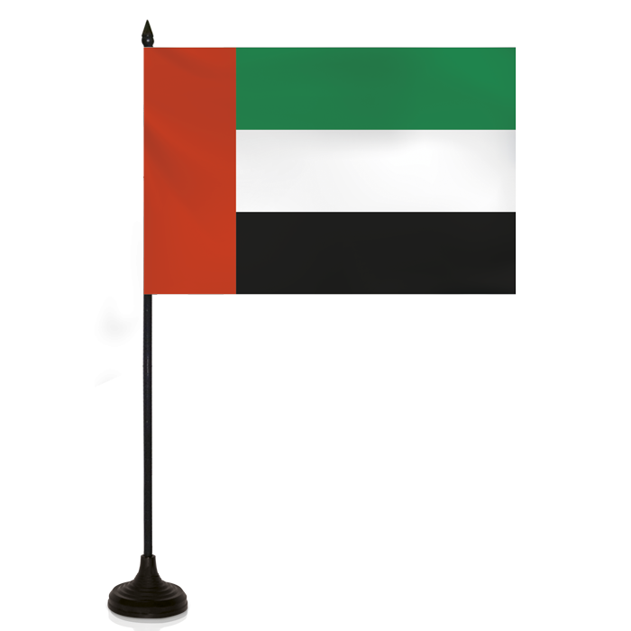Desk Flag - United Arab Emirates Flag