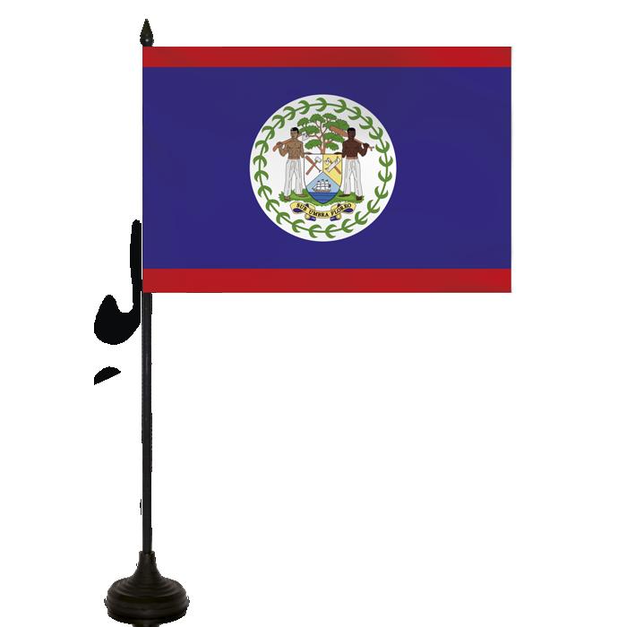 Desk Flag - Belize Flag