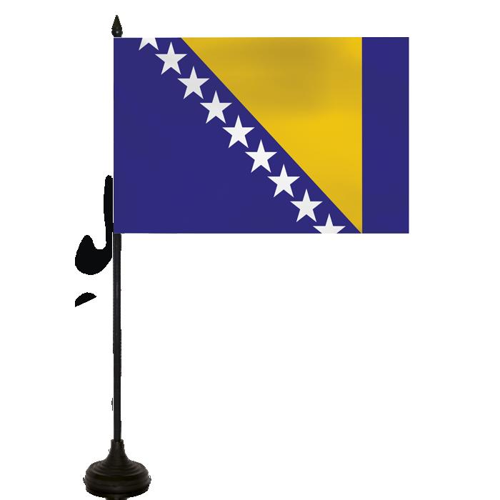 Desk Flag - Bosnia/hertzogovina Flag