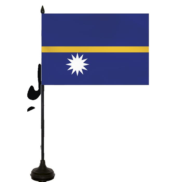 Desk Flag - Nauru Flag