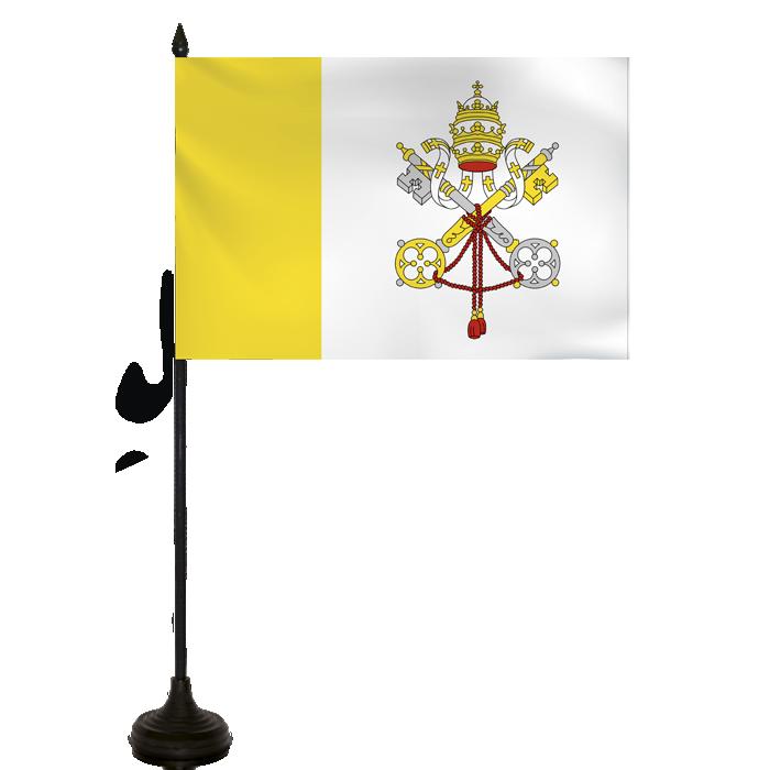 Desk Flag - Vatican Flag