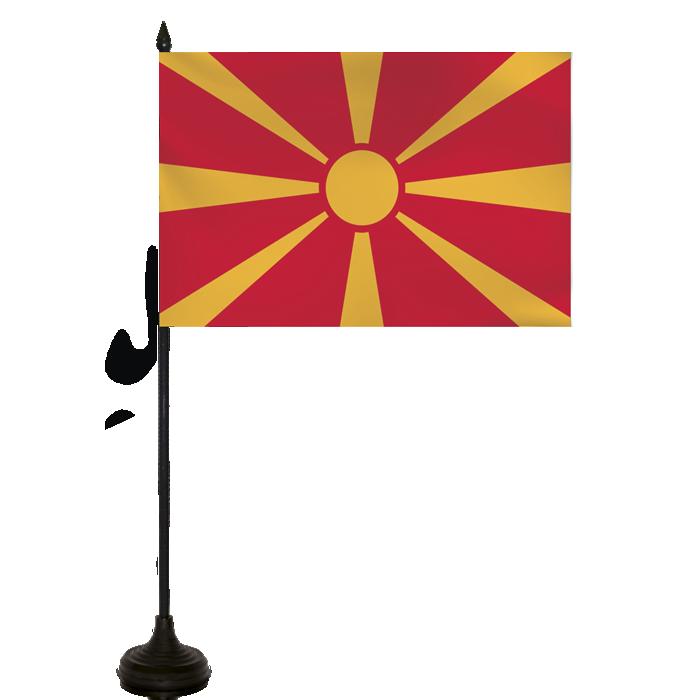 Desk Flag - Masedonia Flag