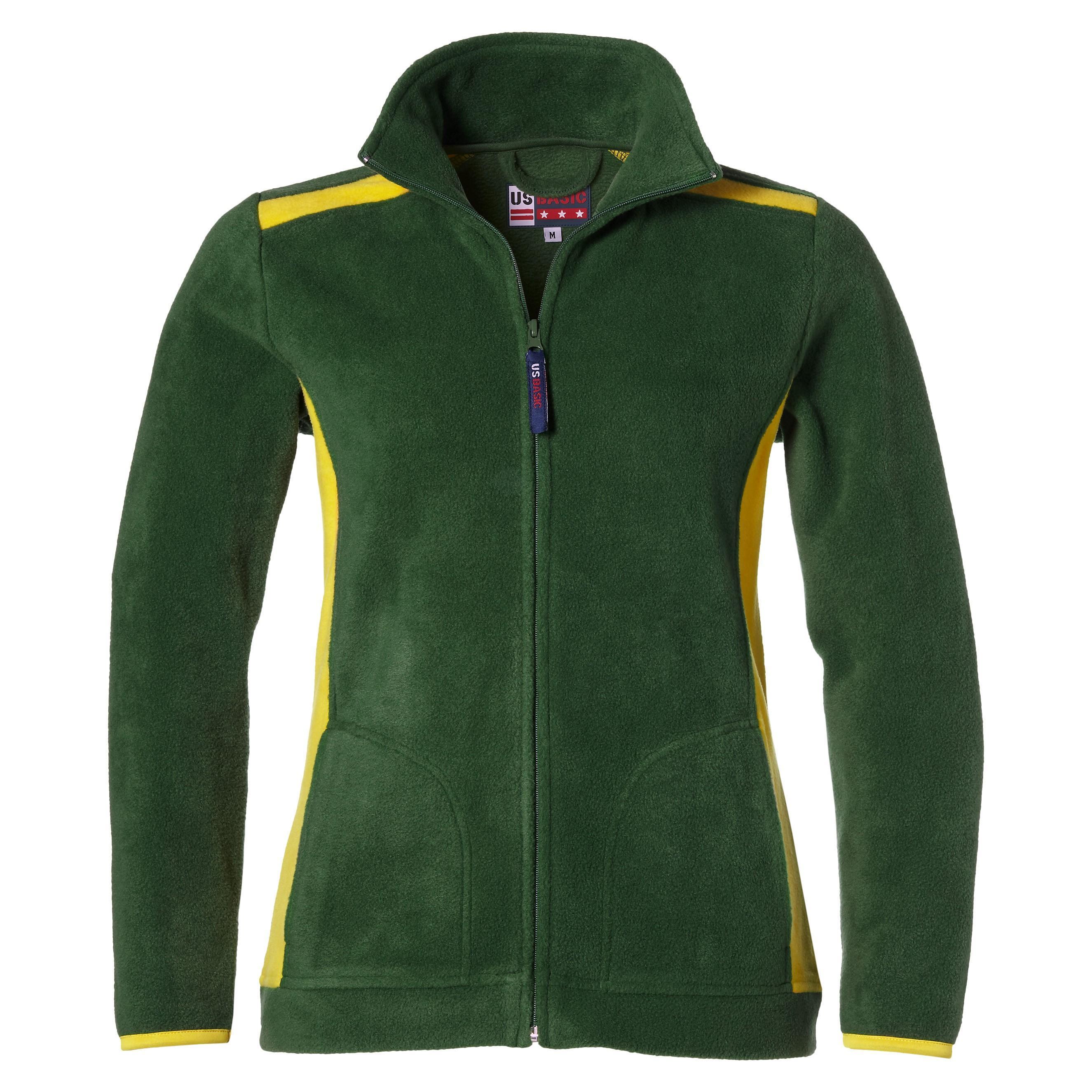Ladies Brighton Fleece Jacket - Green Gold Only