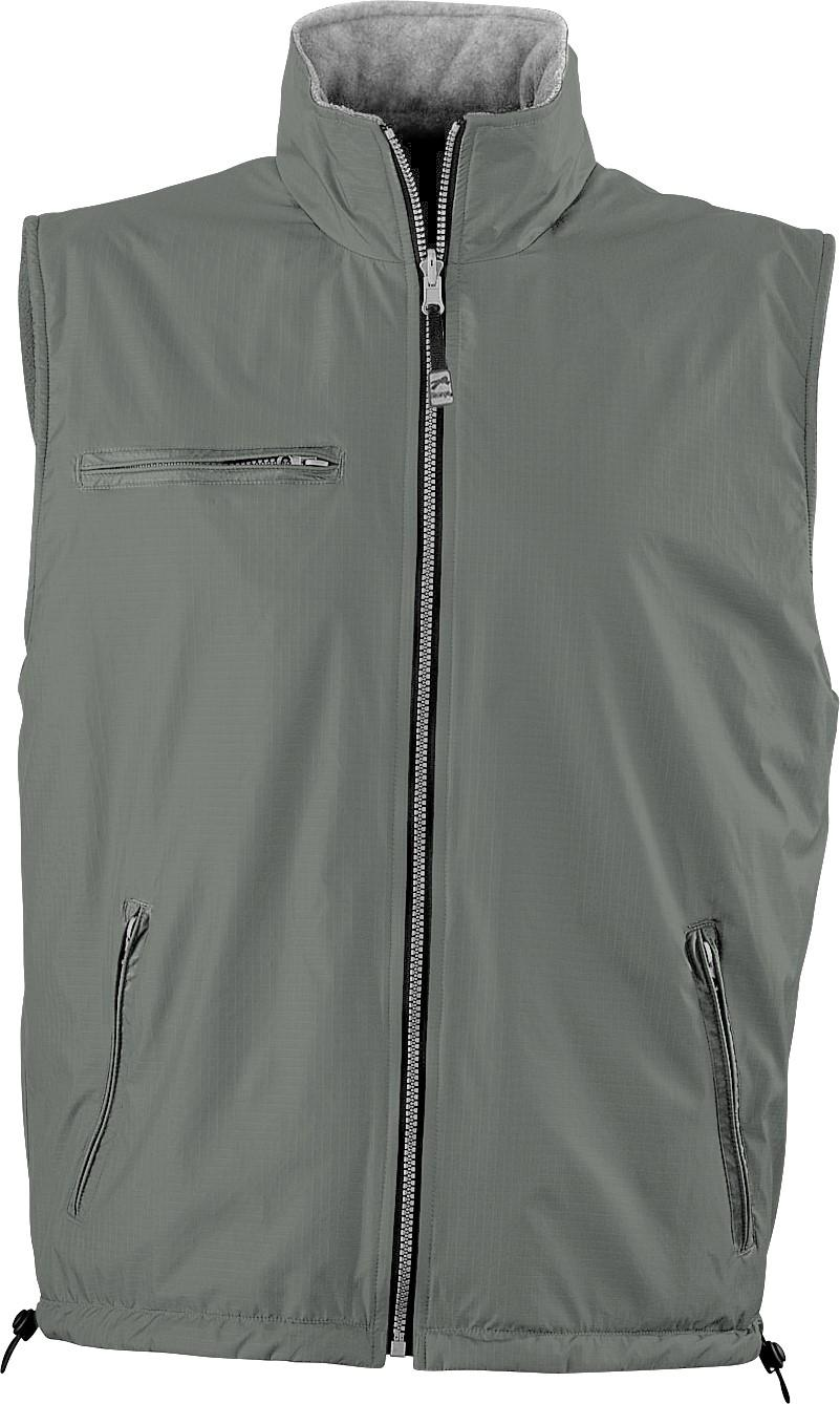 Mens Reversible Fusion Bodywarmer - Grey Only