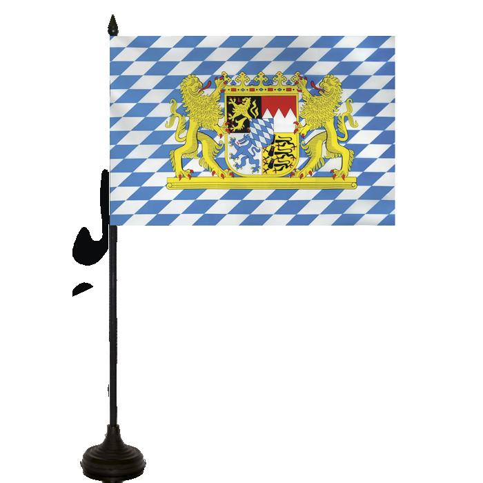 Desk Flag - Bavaria Flag
