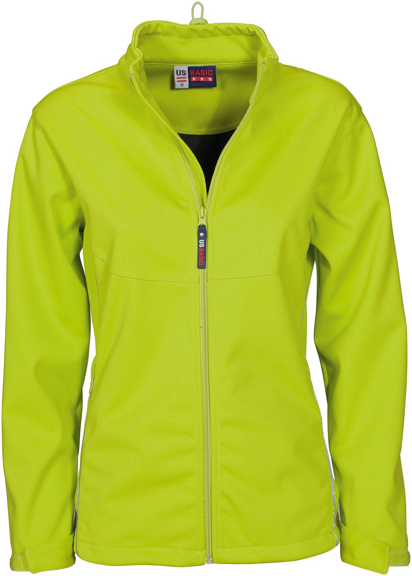 Ladies Cromwell Softshell Jacket - Lime Only